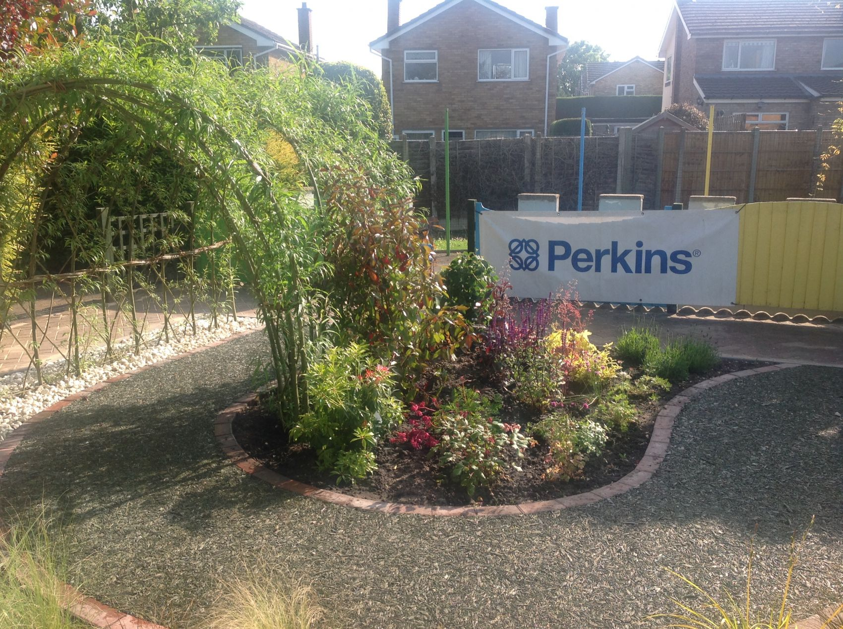 Sensory Garden designed by Perkins